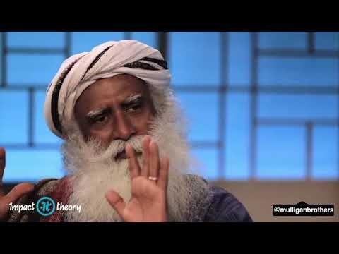 sadhguru despre mancare paraziți din gură