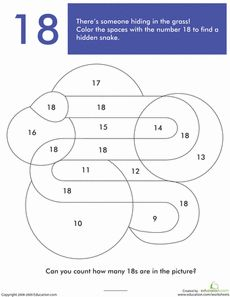 What's Hiding in the Numbers?: 18 | Worksheets, Number Worksheets ...