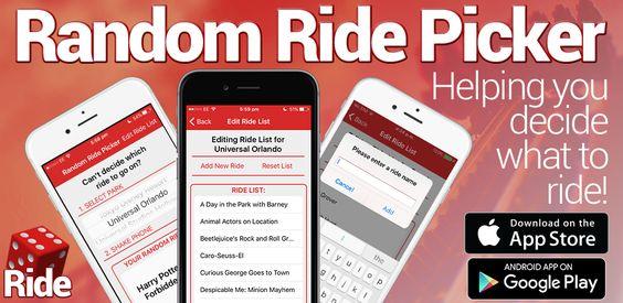 Random Ride App