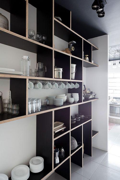 10 spaces – interesting shelvings ideas