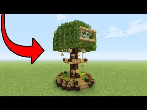 Minecraft Tutorial How To Make A 2 Player Survival Tree Base
