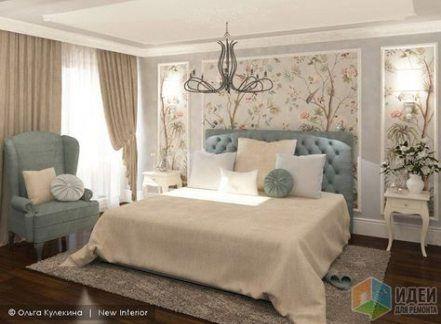 Nastinni Shafi Dlya Spalni Nastinni 24 Ideyi Na 2019 Rik In 2020 Bedroom Wallpaper Accent Wall Luxurious Bedrooms Bedroom Wall