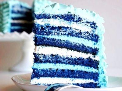 Blue Cake eggless (blue balls free)