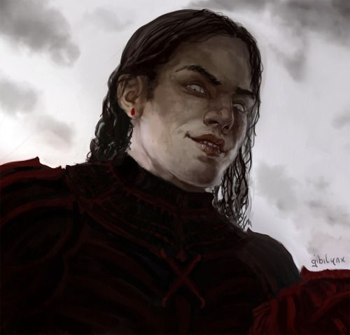 "gameofthrones-fanart: "" Terrifyingly Awesome Digital Illustration of Ramsay Bolton by Gibi Lynx Like us on Facebook """