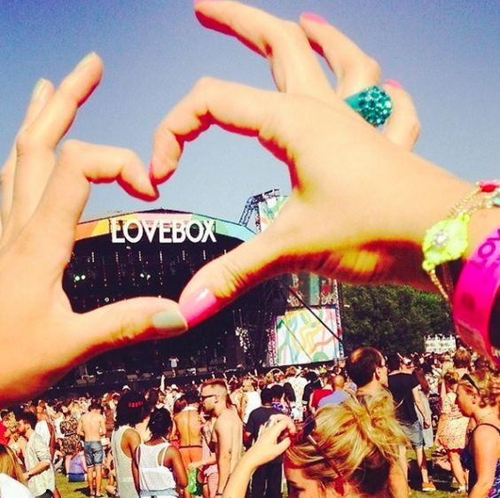 Lovebox love at Lovebox 2014