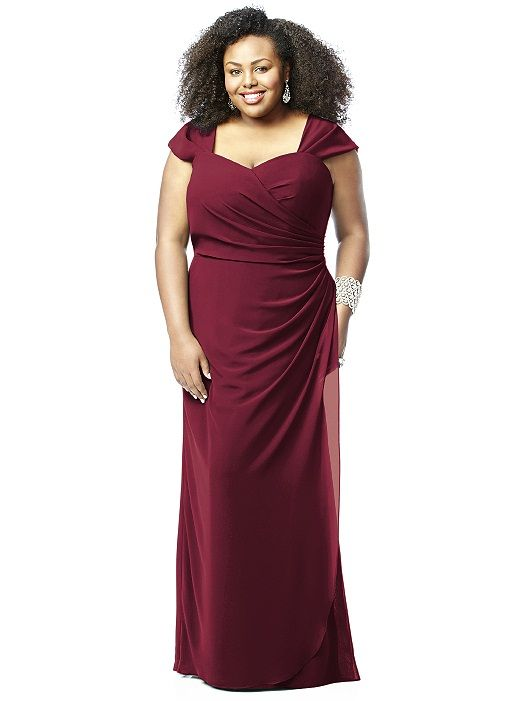 Lovelie Plus Size Bridesmaid Dress 9008: The Dessy Group