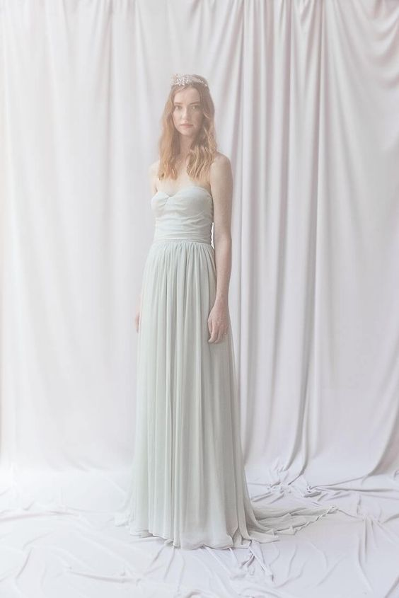 Lya Chiffon Skirt — Alexandra Grecco Wedding Dresses | fabmood.com: