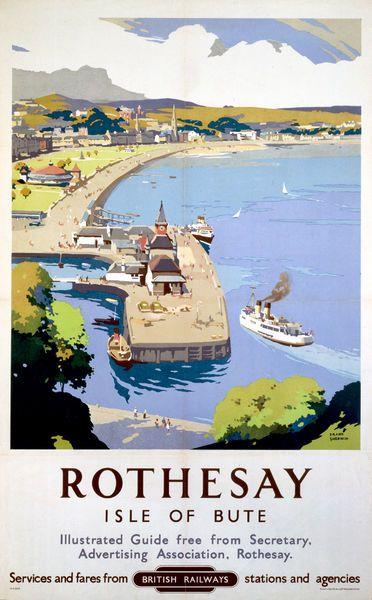 Vintage Style Railway Poster Milton Keynes A4//A3//A2 Print