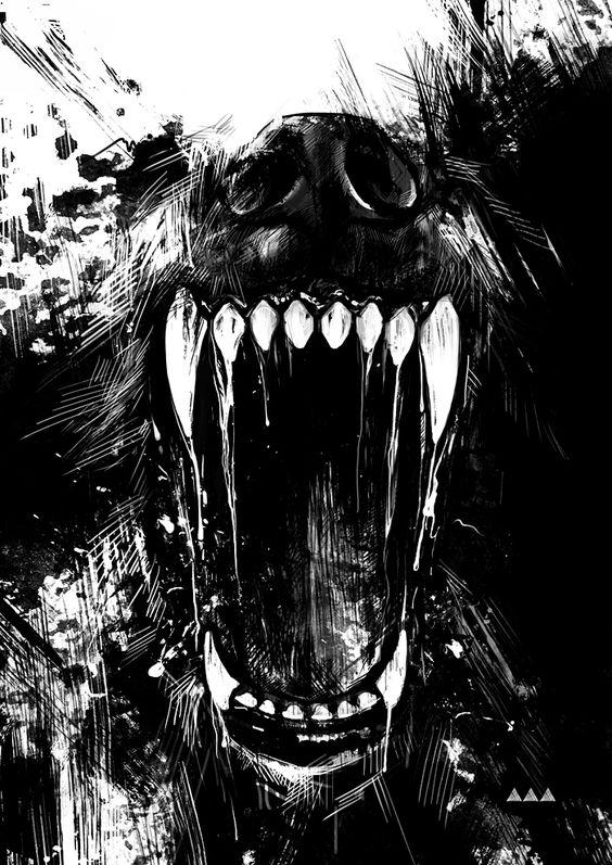 wolf teeth by ViLebedeva.deviantart.com on @deviantART: