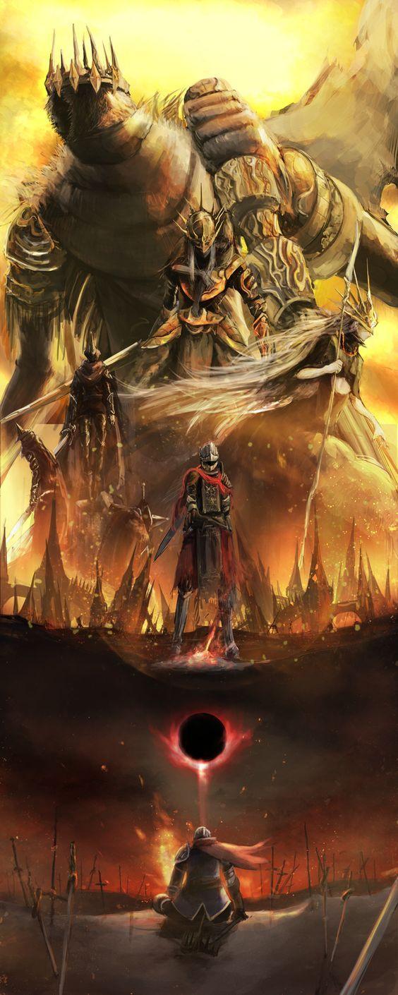 Ide Oleh Gede Andre Pada Dark Souls Fantasi Inspirasi Poni