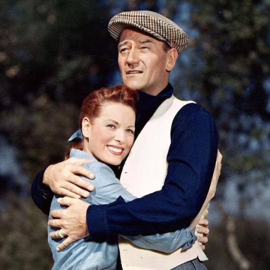 John and Maureen. (The Quiet Man)
