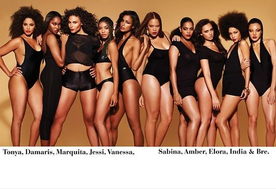 ford + models, a famous plus-size modeling agency, recently