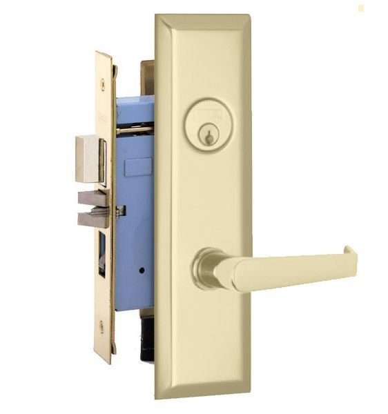 Marks Lock 9ny92 New Yorker Lever Plate Design For Apartment Entrance And Vestibule Door Apartment Entrance Vestibule Plate Design