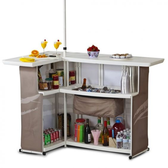Portable Outdoor Snack Bar Amazing Stuffs Pinterest