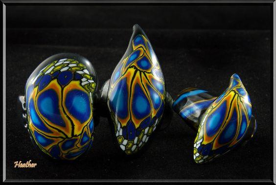 Ringe Schmetterlingsflügel