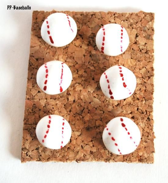 Handmade Thumbtacks for Bulletin Boards  Type: Decorative Pushpins  Stock: PP-Baseball Set of 6 Blue Morning Expressions   Baseball Office Large Push pins Thumbtacks Bulletin Cork Board Home Office cubicles should be your own to decorate. Who does not love a wall full of baseballs to remind you to go and play? These de