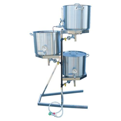 The Original Gravity All Grain Brewing System Home Brewery Home Brewing Beer Home Brewing Equipment