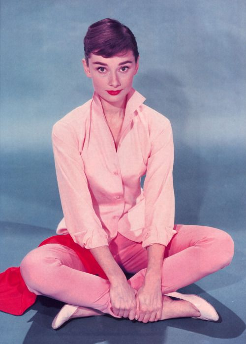 Audrey Hepburn, 1956.