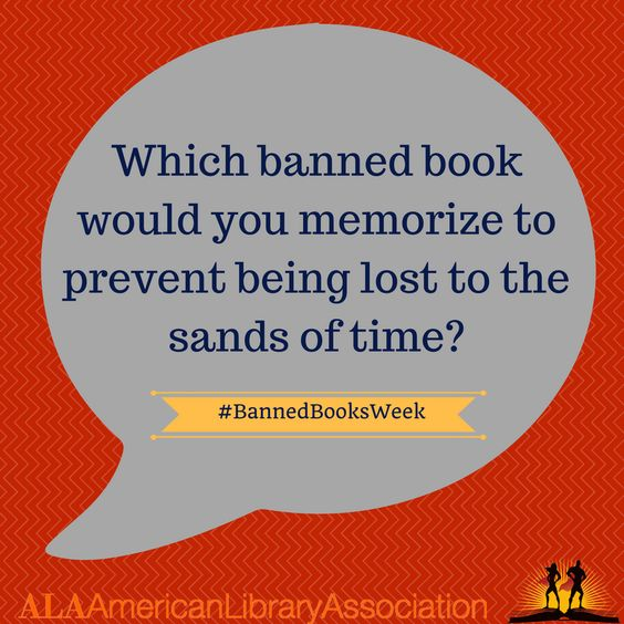 Banned Books Week 2016 Social Media Prompts