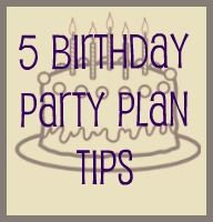 5 steps to a fun kids birthday party!