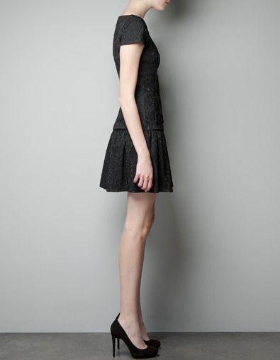 BROCADE DRESS - Dresses - Woman - New collection - ZARA