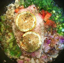 Salsa Tilapia | ♥ HEALTHY EATS ♥ | Pinterest | Salsa, Easy Recipes ...