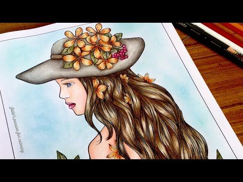 100 Coloring Pages Line Art Part 2 By Alena Lazareva Prismacolor Pencils Color Along Youtube Prismacolor Drawing Prismacolor Colored Pencil Techniques