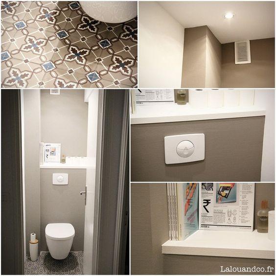 Rénovation : nos WC [Avant / Après] - Lalouandco