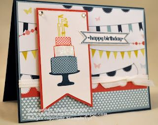 birthday card by stamplady102 - Cards and Paper Crafts at Splitcoaststampers