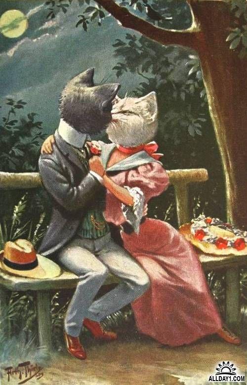 Иллюстратор Arthur Thiele (1860-1936)