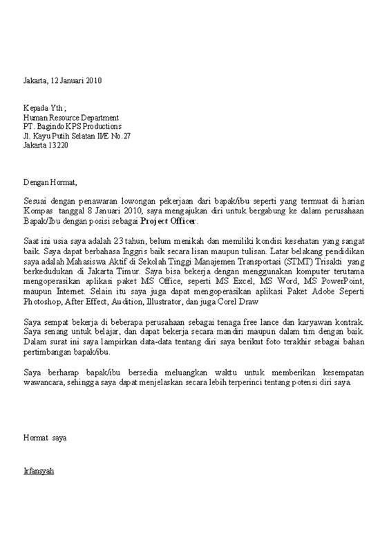 Contoh Surat Lamaran Karyawan Restoran Download Kumpulan Gambar