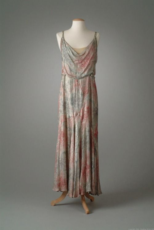 Evening Dress Peggy Hoyt, 1930 The Meadow Brook Hall Historic Costume Collection