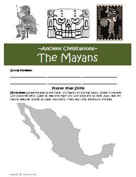 Collection of Mayan Civilization Worksheets - Bloggakuten