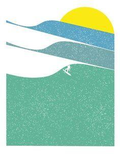Retro Surf on Pinterest   Vintage Surf, Surf Posters and Surfs Up