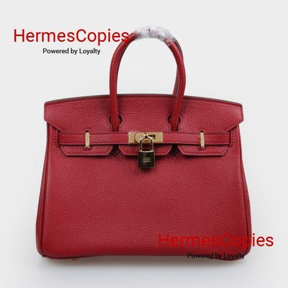 best hermes birkin color - Hermes Birkin 25cm Rouge H Togo Leather Gold Hardware | Birkin ...