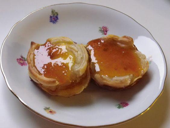 Jamie Oliver's orange tarts