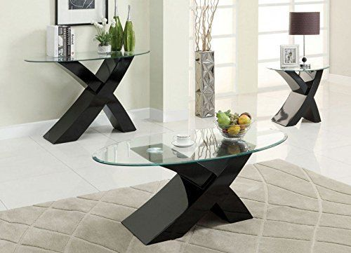 Contemporary Coffee Tables And End Tables Download Designer Black Quot X Quot Milano High G Coffee And End Tables Coffee Table Setting Modern Coffee Tables