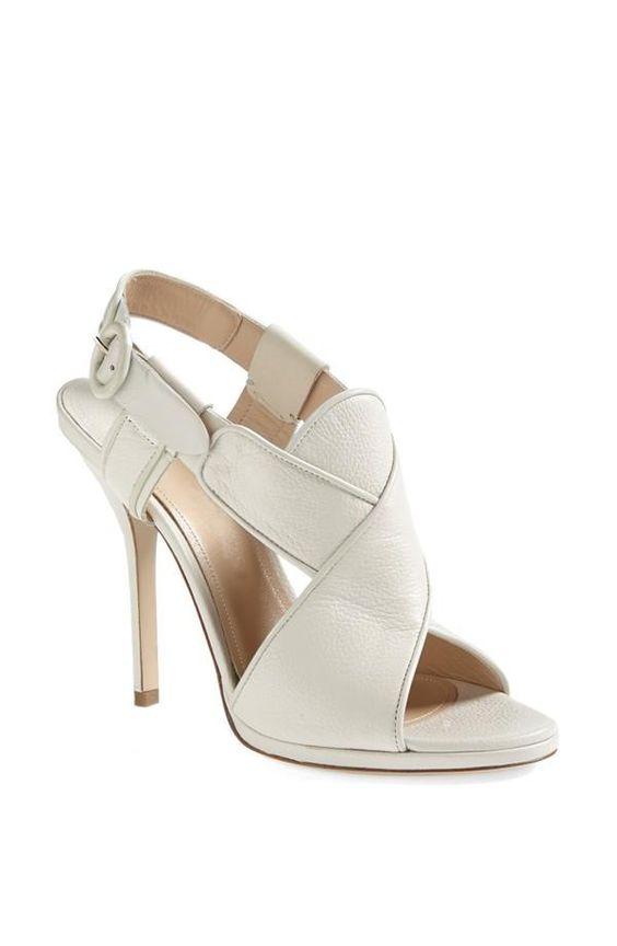White, Strappy Sandal