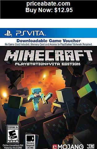 Video-Gaming: Minecraft PlayStation Vita Edition - Sony Game Voucher Free Ship - BUY IT NOW ONLY $12.95