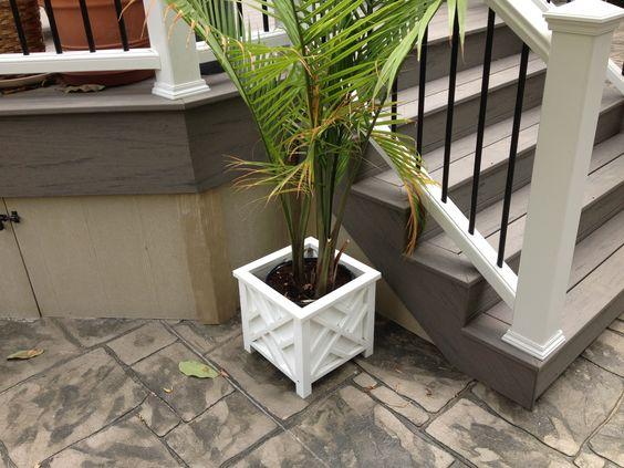 Open sided steps timbertech terrain deck pinterest for Terrain decking