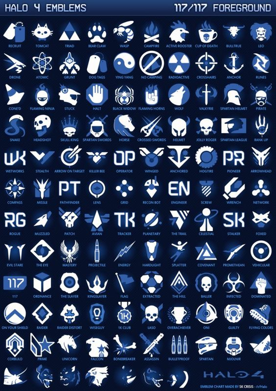 halo 4 service emblems halo pinterest halo the o