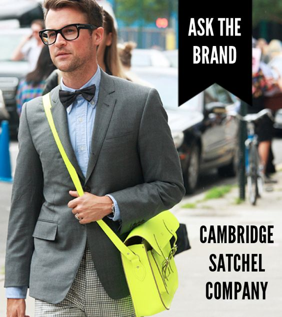 The street-style must-have brand Cambridge Satchel Company talks social media w/ IFB