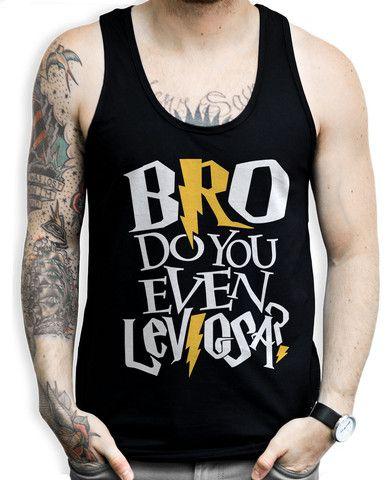 Bro Do You Even Leviosa Tank Tops