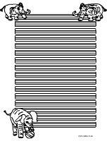 Elefanten Briefpapier