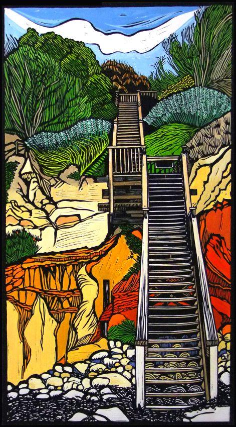 Coastal Walkway by Gail Kellett:
