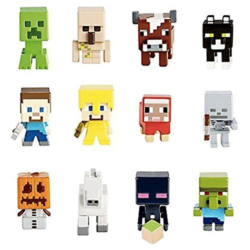Minecraft Mattel Set of 12 Mystery Mini Figures Minecraft http://www.amazon.com/gp/product/B00O1BPO4Q/ref=as_li_qf_sp_asin_il_tl?ie=UTF8&camp=1789&creative=9325&creativeASIN=B00O1BPO4Q&linkCode=as2&tag=acenorris09-20&linkId=EGBQ2TW6ZPZSN3BS