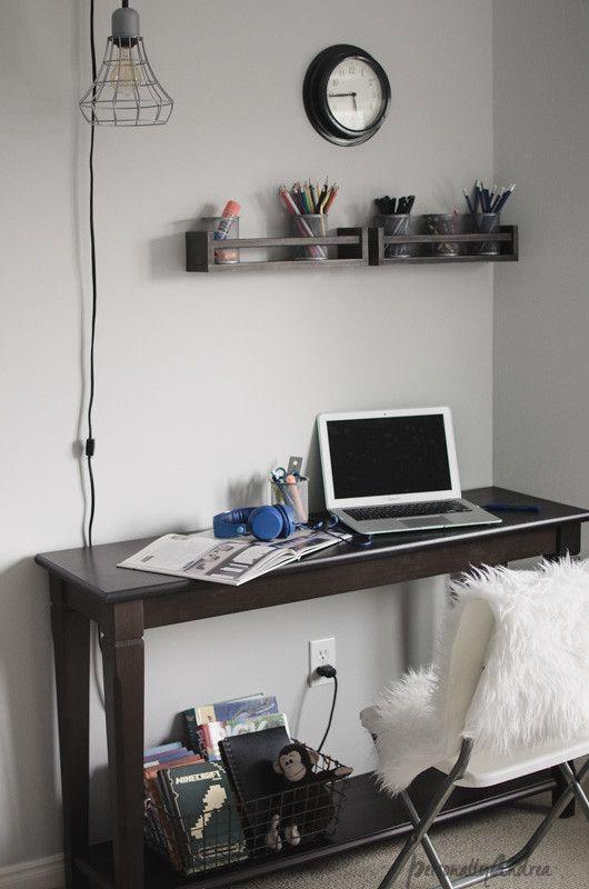 Ikea Spice Rack As Desk Organizer Hack Ikea Spice Rack Desks For Small Spaces Homemade Homework Station