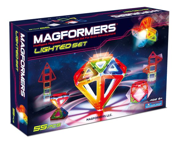 Amazon.com: Magformers Lighted Set: Toys & Games