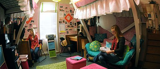 Clemson Dorm Room  DORM ROOM  Pinterest  Dorm, Storage  ~ 103902_Clemson Dorm Room Ideas