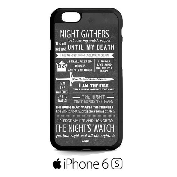 Game Of Thrones Quotes Lannister Stark iPhone 6S  Case